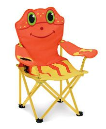 Melissa And Doug Clicker Crab Chair - Orange