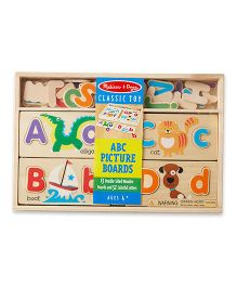 Melissa & Doug ABC Picture Boards - Multicolor