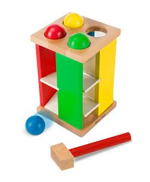 Melissa And Doug Pound And Roll Tower - Multicolor