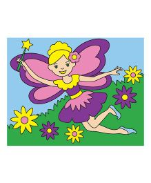 Melissa And Doug Fairy Themed Canvas Painting Kit - Multicolor