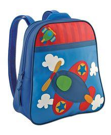 Stephen Joseph Go Go Bag Airplane Design - Blue And Red