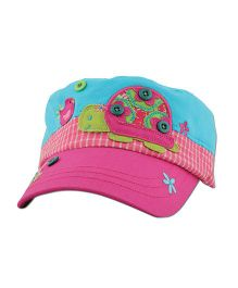 Stephen Joseph Signature Collection Cap Turtle - Pink And Blue