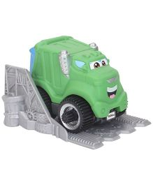 Funskool Tonka Chuck And Friends Rowdy The Garbage Truck - Green