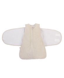 Clevamama 3 In 1 Swaddle Sleep Bag - Cream