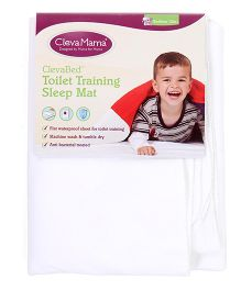 Clevamama Clevabed Toilet Training Sleep Mat - White