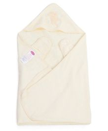 Clevamama Splash N Wrap Apron Bath Towel Extra Large - Cream