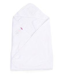 Clevamama Splash N Wrap Apron Bath Towel Extra Large - White
