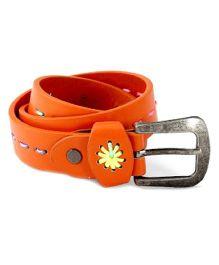 D'Chica Thread Work Girls Belts - Brown