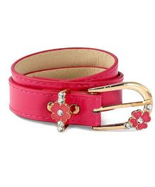 D'Chica Dash Of Bling Belt - Fuschia