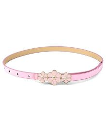 D'Chica 3 Dainty Flowers On Girl Belts - Pink