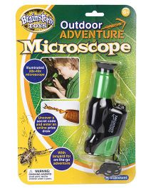Brainstorm Toys Outdoor Adventure Microscope - Green And Black