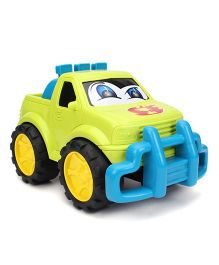 Bloomy Big Fun Toy Car - Green And Blue