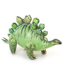 Comdaq Kids Play Inflatable Stegosaurus Green - 22 Inches