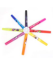 Scentos Funny Face Scented Washable Markers Multicolor - Pack Of 8