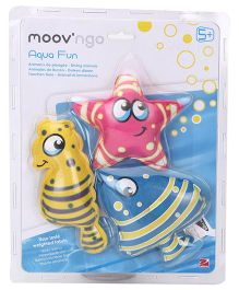 Moov n Go Aqua Fun Multicolor - Pack Of 3