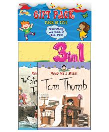 Gift Pack Set of 4 With Free Stickers - English