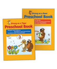 Pre School Book Pack of 2 - English