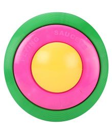 Speedage Flying Saucer - Green Pink And Yellow
