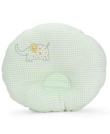 Little Wacoal Baby Pillow Elephant Print - Green