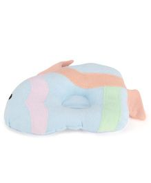 Little Wacoal Fish Design Pillow - Blue