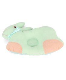 Little Wacoal Rabbit Design Pillow - Green