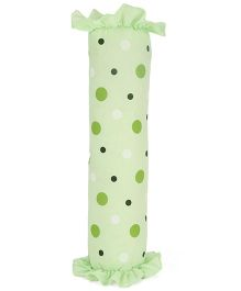 Little Wacoal Baby Bolster Dotted Print  - Green