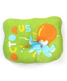 Du Bunn Octopus Print Pillow - Green