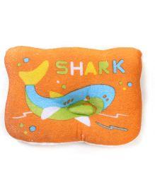 Du Bunn Shark Print Pillow - Orange