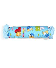 Little Wacoal Frilled Baby Bolster Animal Print - Blue
