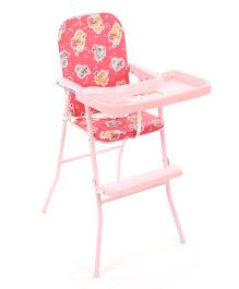 New Natraj High Chair Mouse Print Pink - 040