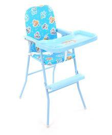 New Natraj High Chair Mouse Print Blue - 040