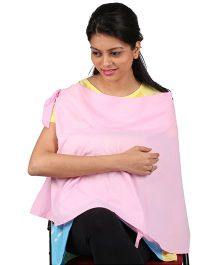 MomTobe Feeding Cotton Cloak - Pink