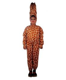SBD Wild Giraffe Fancy Dress Costume For Kids - Brown