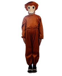 SBD Wild Monkey Fancy Dress Costume For Kids - Brown