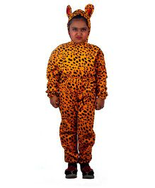 SBD Wild Cheetah Fancy Dress Costume For Kids - Yellow