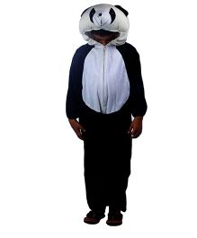 SBD Panda Fancy Dress Costume For Kids - Black & White