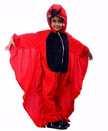 SBD Parrot Fancy Dress Costume For Kids - Red