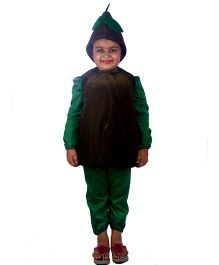 SBD Kiwi Fruit Fancy Dress Costume - Brown And Green