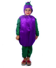SBD Brinjal Vegetable Fancy Dress Costume - Purple