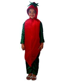 SBD Red Chilli Vegetable Fancy Dress Costume - Red