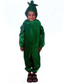 SBD Lady Finger Vegetable Fancy Dress Costume - Green