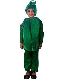 SBD Capsicum Vegetable Fancy Dress Costume - Green