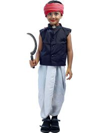 SBD Farmer Fancy Dress Costume - White