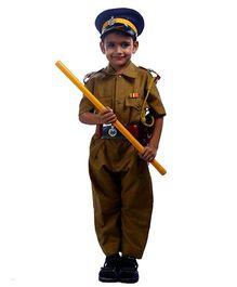 SBD Police Officer Dress Costume - Khaki