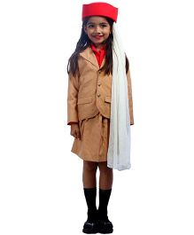 SBD Air Hostess Community Helper Fancy Dress Costume - Beige