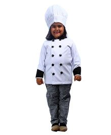 SBD Chef Community Helper Fancy Dress Costume - White