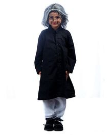 SBD Abdul Kalam Fancy Dress Costume - Black And White