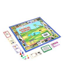 Creative Animal Safari Board Game - Multicolor