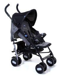 Chicco Echo Basic Stroller With Bumper Bar Garnet - Charcoal