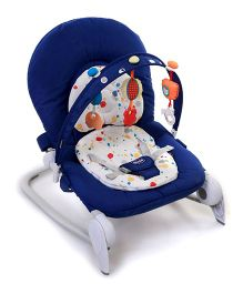 Chicco Hoopla Baby Bouncer - Blue